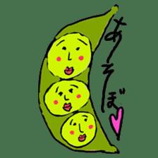 strawberry boy & his vegetables sticker #1506531