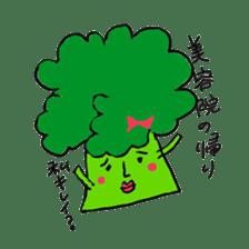 strawberry boy & his vegetables sticker #1506536