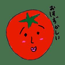 strawberry boy & his vegetables sticker #1506544