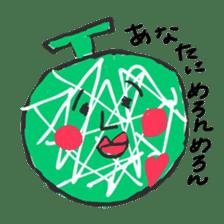 strawberry boy & his vegetables sticker #1506554