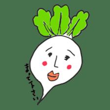 strawberry boy & his vegetables sticker #1506556