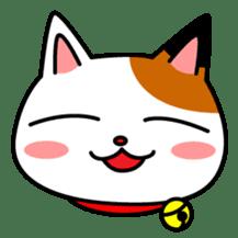 Mike of the troitoiseshell cat sticker #1507808