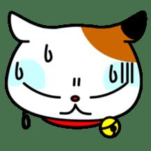 Mike of the troitoiseshell cat sticker #1507811