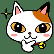 Mike of the troitoiseshell cat sticker #1507814