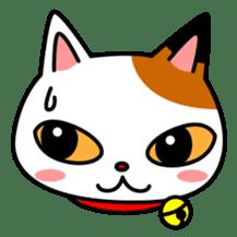 Mike of the troitoiseshell cat sticker #1507815