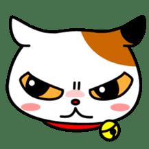 Mike of the troitoiseshell cat sticker #1507816