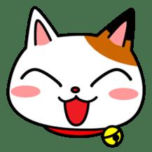 Mike of the troitoiseshell cat sticker #1507818
