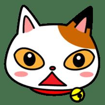 Mike of the troitoiseshell cat sticker #1507819