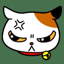 Mike of the troitoiseshell cat sticker #1507821