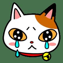 Mike of the troitoiseshell cat sticker #1507824