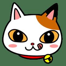 Mike of the troitoiseshell cat sticker #1507827