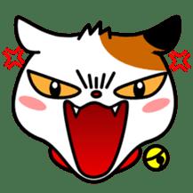 Mike of the troitoiseshell cat sticker #1507830