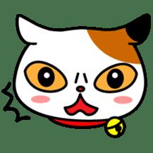 Mike of the troitoiseshell cat sticker #1507831