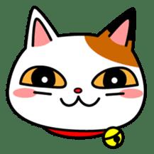 Mike of the troitoiseshell cat sticker #1507832