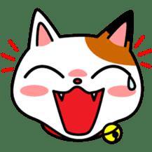 Mike of the troitoiseshell cat sticker #1507842