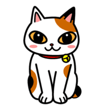 Mike of the troitoiseshell cat sticker #1507843