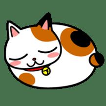 Mike of the troitoiseshell cat sticker #1507844