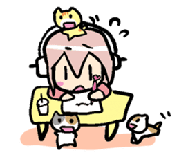 Super Sonico : Diary Ver. sticker #1508211