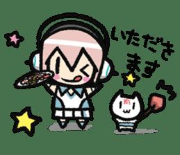 Super Sonico : Diary Ver. sticker #1508225