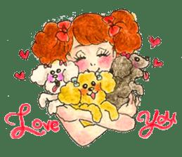 LOVE by GIRLS sticker #1508816