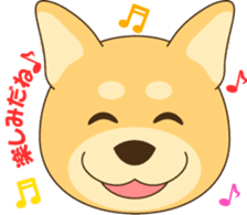 Shiba-inu sticker #1508922