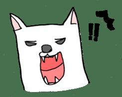 fussy Dog sticker #1509254