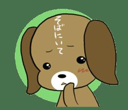 BeagleDogCocoa sticker #1512697