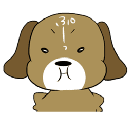BeagleDogCocoa sticker #1512725