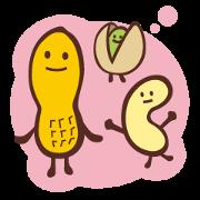 สติ๊กเกอร์ไลน์ NUTS!!