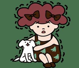 pretty mama sticker #1513366