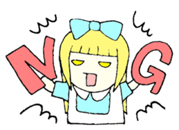 Daily Alice sticker #1515731