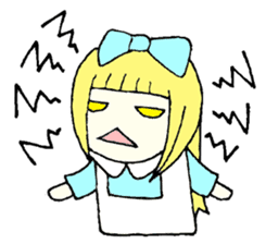 Daily Alice sticker #1515743