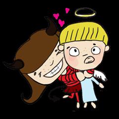 Story of poor Valentine and Devil Debbie