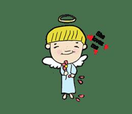 Story of poor Valentine and Devil Debbie sticker #1515969