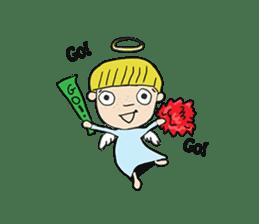 Story of poor Valentine and Devil Debbie sticker #1515999