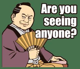 Edo Jidaigeki sticker(English ver.) sticker #1516621