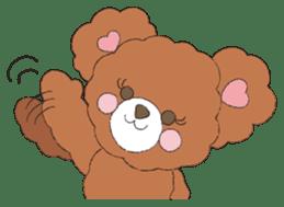 * Chocolate Bear * sticker #1518768