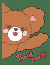 * Chocolate Bear * sticker #1518769