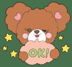 * Chocolate Bear * sticker #1518772
