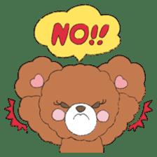 * Chocolate Bear * sticker #1518773
