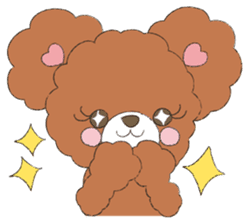 * Chocolate Bear * sticker #1518776