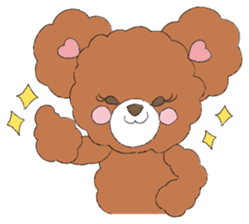 * Chocolate Bear * sticker #1518777