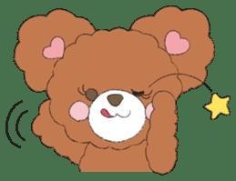* Chocolate Bear * sticker #1518779