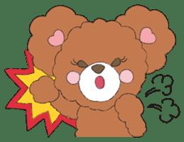 * Chocolate Bear * sticker #1518781