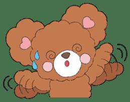 * Chocolate Bear * sticker #1518788