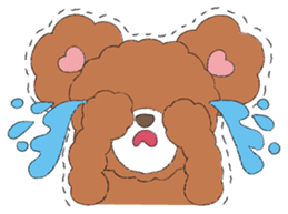 * Chocolate Bear * sticker #1518790