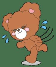 * Chocolate Bear * sticker #1518791