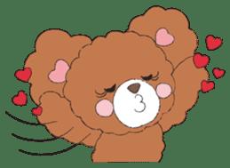 * Chocolate Bear * sticker #1518794