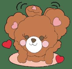 * Chocolate Bear * sticker #1518795