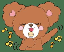 * Chocolate Bear * sticker #1518797